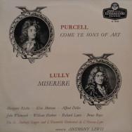 Henry Purcell / Jean-Baptiste Lully - Come Ye Sons Of Art / Miserere