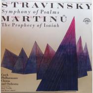 Czech Philharmonic Chorus and Orchestra, Josef Veselka, Karel Ancerl - Stravinsky - Symphony of Psalms / Martinu - The Prophecy of Isaiah