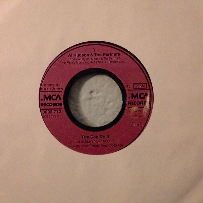 Al Hudson & The Partners - You can do it / I don't want you to leave me