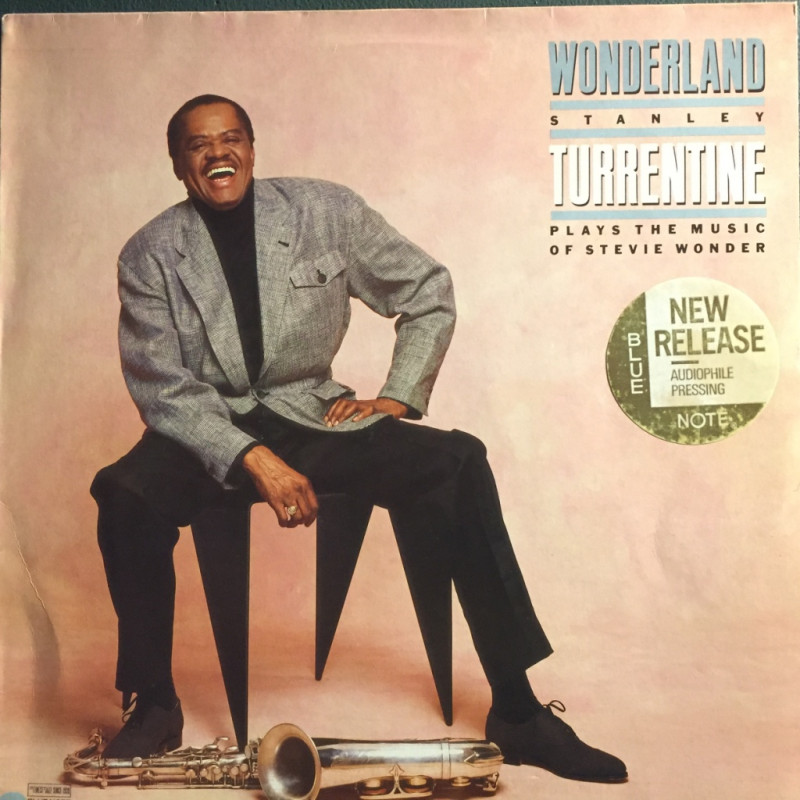 Stanley Turrentine - Wonderland (plays the music of Stevie Wonder)