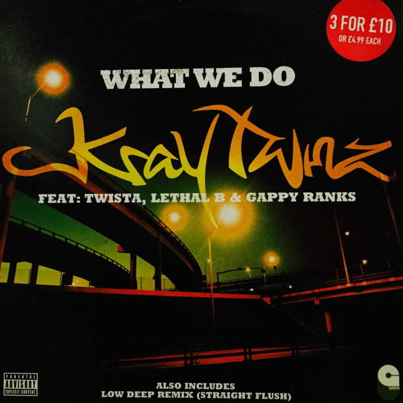 Kray Twinz / Low Deep - What We Do / Straight Flush