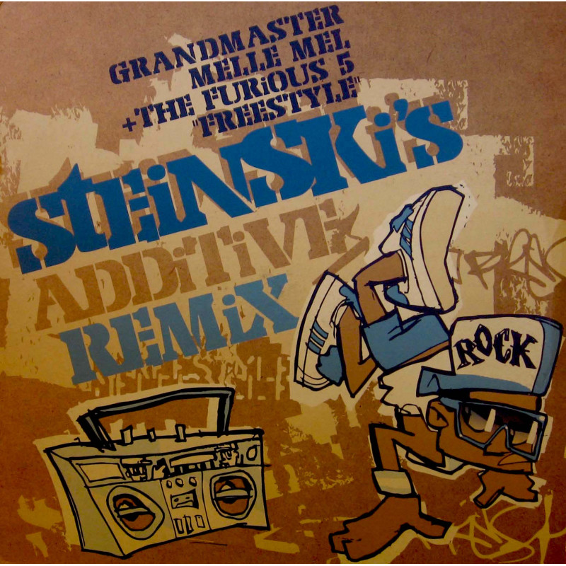 Grandmaster Melle Mel & The Furious Five - Freestyle (Steinski's additive remix)