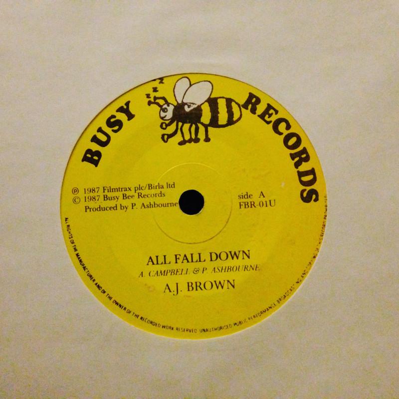 A.J. Brown All fall down / Version