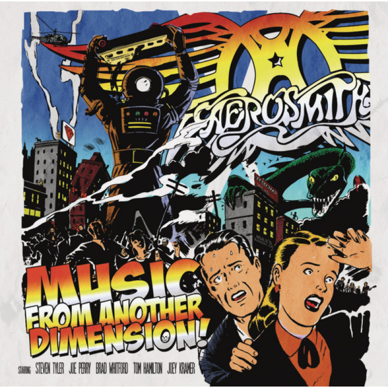 AEROSMITH - Music from another Dimension!